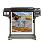 HP Designjet 1050c plus 36 inch plotterpapier