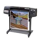 HP Designjet 1055cm 36 inch canvas
