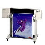 HP Designjet 2500cp 36 inch canvas