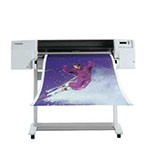 HP Designjet 3000cp 36 inch canvas