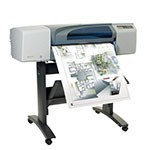 HP Designjet 500 24 inch canvas