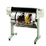 HP Designjet 750c 36 inch canvas