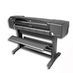 HP Designjet 800 42 inch canvas