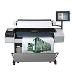HP Designjet T1200 HD 44 inch canvas