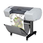 HP Designjet T610 24 inch canvas