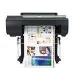 Canon ImagePROGRAF iPF6450 24 inch canvas