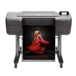 HP Designjet Z9+ 24 inch canvas