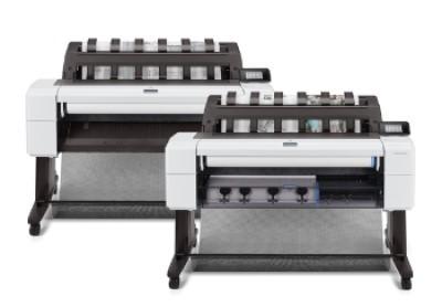 HP Designjet T1600 36 inch poster papier