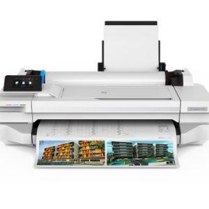 HP Designjet T125 24 inch plotter-0