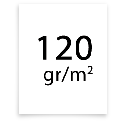 120 gr poster papier