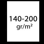 140-200 grams