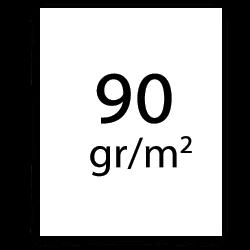 90 gr plotterpapier